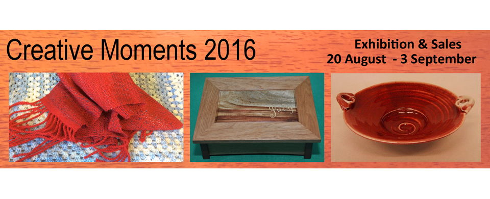 shoalhaven potters taking part in creative moments 2016